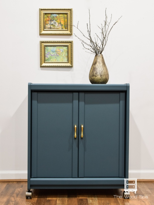 The Wood Spa - Blue Cabinet-1-1