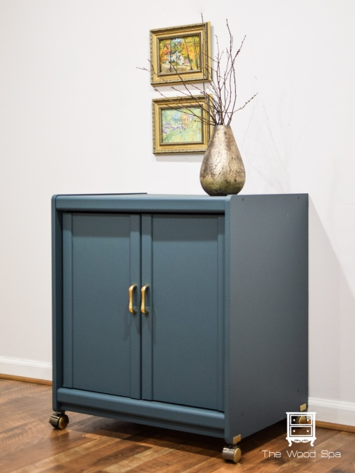 The Wood Spa - Blue Cabinet-1-3